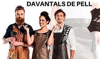 DAVANTALS DE PELL