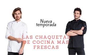 LAS CHAQUETAS DE COCINA MÁS FRESCAS