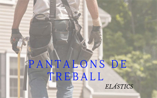 PANTALÓ DE TREBALL ELÁSTIC