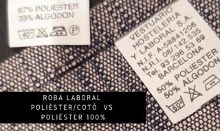 ROBA LABORAL POLIÈSTER/COTÓ VS POLIÈSTER 100%