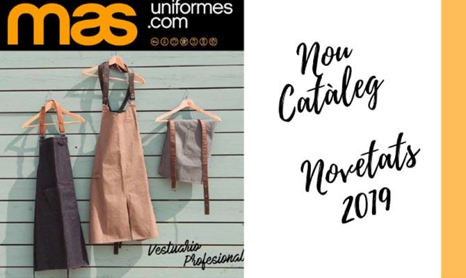 Catleg novetats 2019 de Mas Uniformes