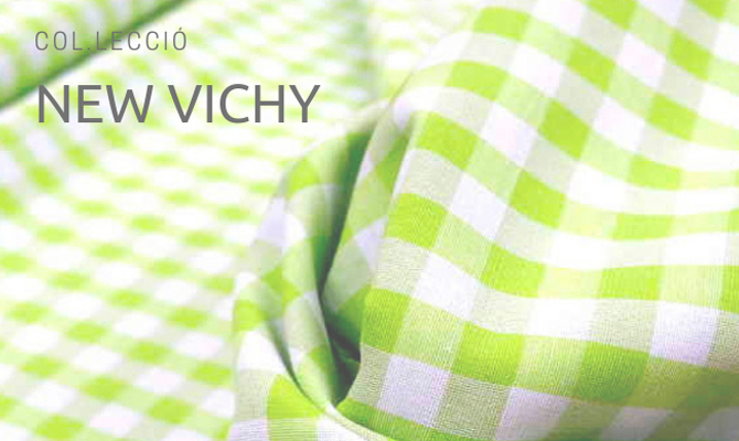 New Vichy en verd pistacho