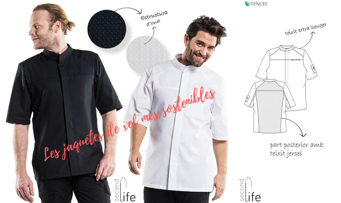 Jaquetes de cuina ecologiques Second Life by Chaud Devant