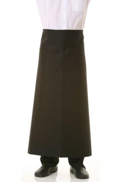 Delantal Artel Parisién negro o granate, con cordón del mismo color que el tejido. Sarga de buena calidad.