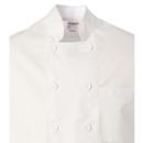 jaqueta cuiner blanca