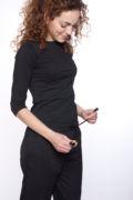 pantalon negro cintura de goma