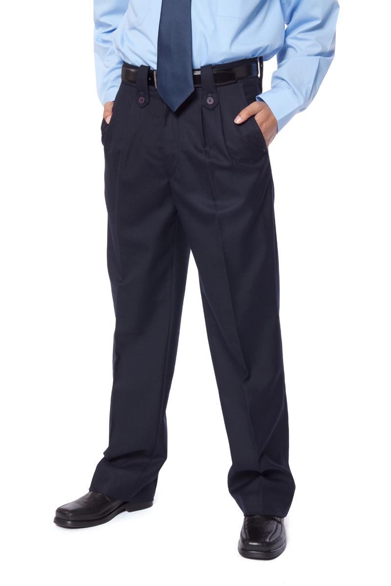 nueva colección 63747 48bdd Pantalón de seguridad de hombre color azul marino