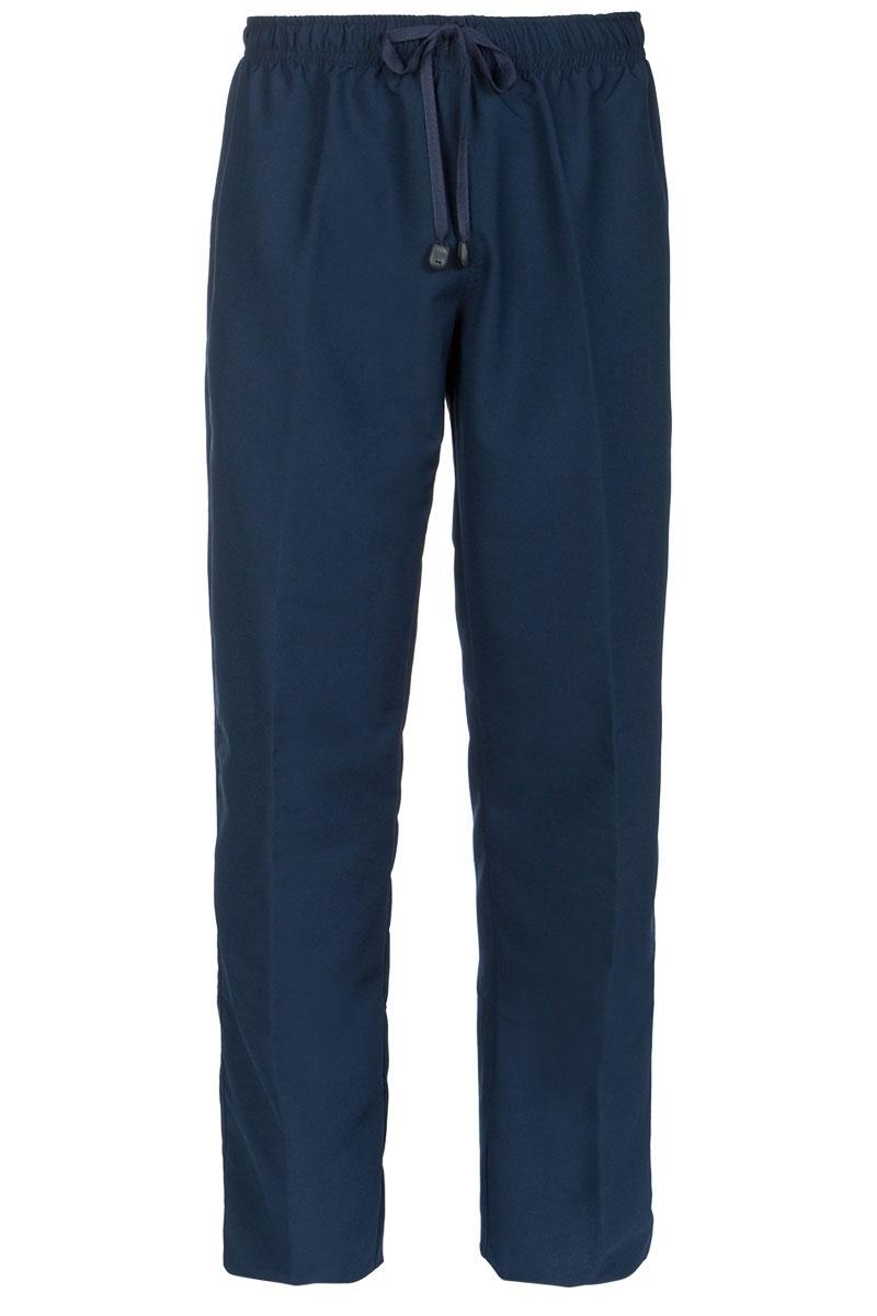 11539b3be80 Pantalón sanitario de hombre azul marino de microfibra