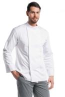 chaqueta de cocinero blanca