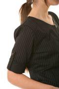 blusón artel manga regulable negro