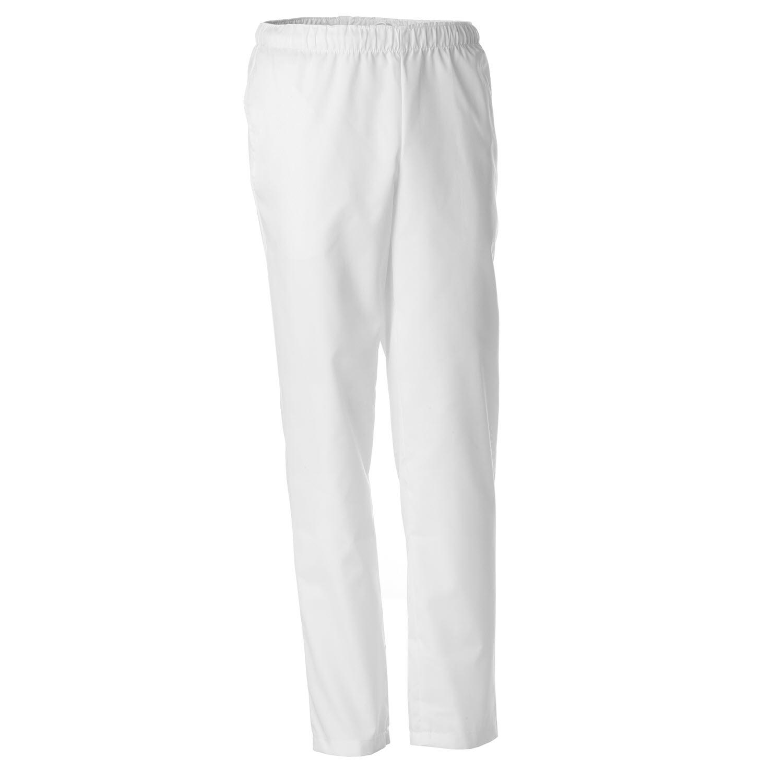 Pantalon Blanco Artel Con Cintura De Goma