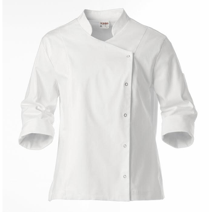 Chaquetas de cocina para mujer uniformes hosteleria for Chaquetas de cocina originales
