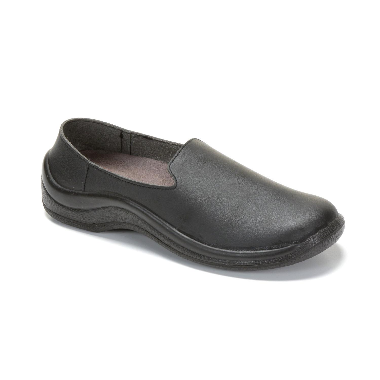 Mycodeor negro o blanco zapatos antideslizantes - Zapatos de cocina antideslizantes ...