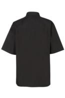 Blusa negra manga corta de mujer Artel