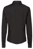 Blusa negra entallada de mujer Artel