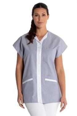 Blusó de neteja sense mànigues amb butxaques