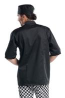 chaqueta de cocinero manga corta