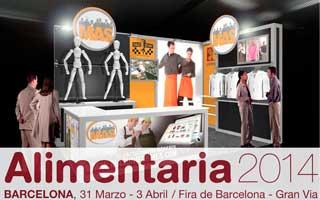 MAS UNIFORMES A LA FIRA ALIMENTÀRIA DE BARCELONA DE 2014