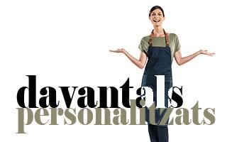 DAVANTALS PERSONALITZATS A MAS UNIFORMES