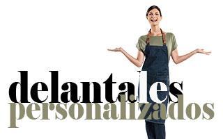 DELANTALES PERSONALIZADOS EN MAS UNIFORMES