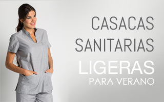 CASACAS SANITARIAS FRESCAS PARA VERANO