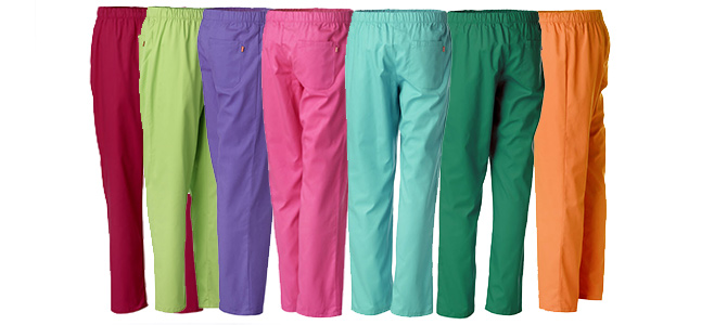 pantalones para hospital de colores