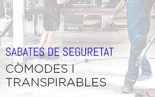 SABATES DE SEGURETAT COMODES I TRANSPIRABLES