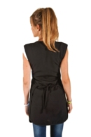 Estola 583 lligada a la cintura negra amb adorn colors