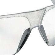 Ulleres transparents amb proteccions laterals
