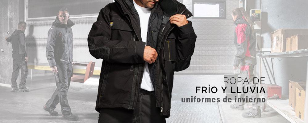 Ropa de frío y lluvia en mas uniformes