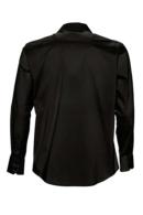 Camisa hombre negra 17000 Brighton corte ajustado y elástica