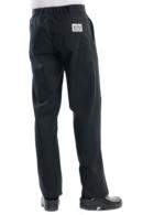 Pantalón de cocina chaud Devant negro Santino