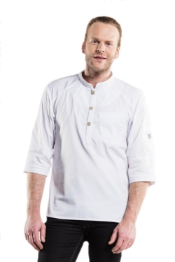 Jaqueta blanca Bujutsu