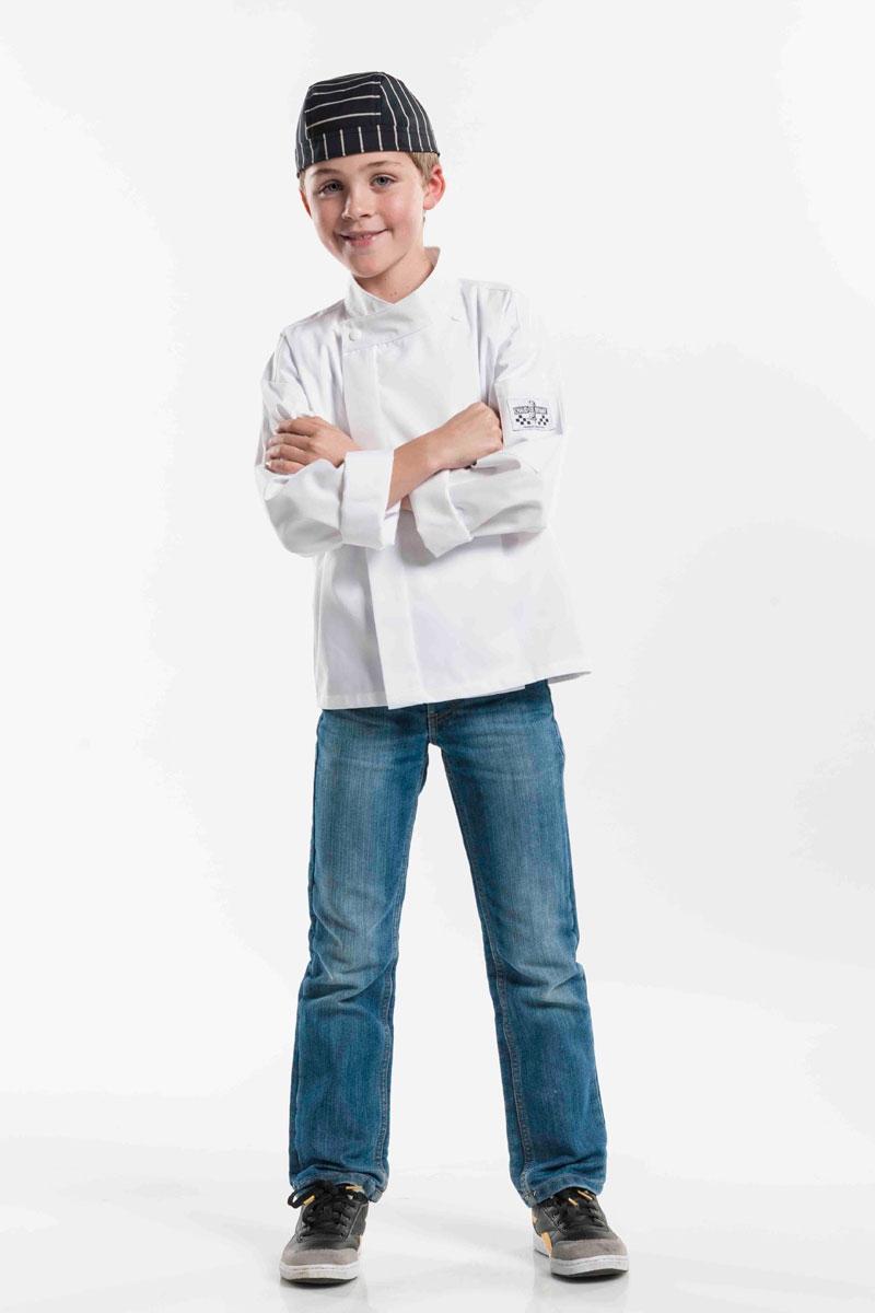 ccb70e36425 Chaqueta Blanca para niños Chaud Devant | Chaquetas Cocinero