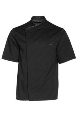 chaqueta de cocina manga corta roger transpirable