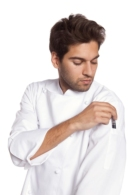 Jaqueta per cuina teixit elàstic Coolmax