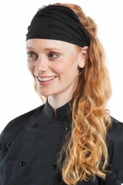 diadema de cuina de chaud devant negre