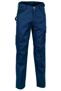 Pantalon cofra drill color azul marino