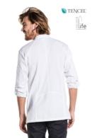 jaqueta esquena de cuina blanca