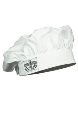 Gorra de cuiner blanca per a nens
