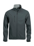 Softshell hombre gris