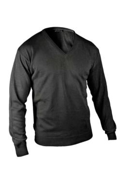 Jersey pullover Adversia acrñilico fino con canalé en los puños