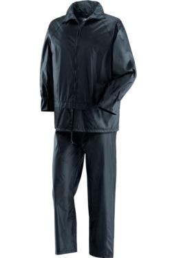 Vestit d'aigua en color blau marí impermeable ideal per a la pluja