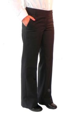 Pantaló de dona Artel negra baix de cintura