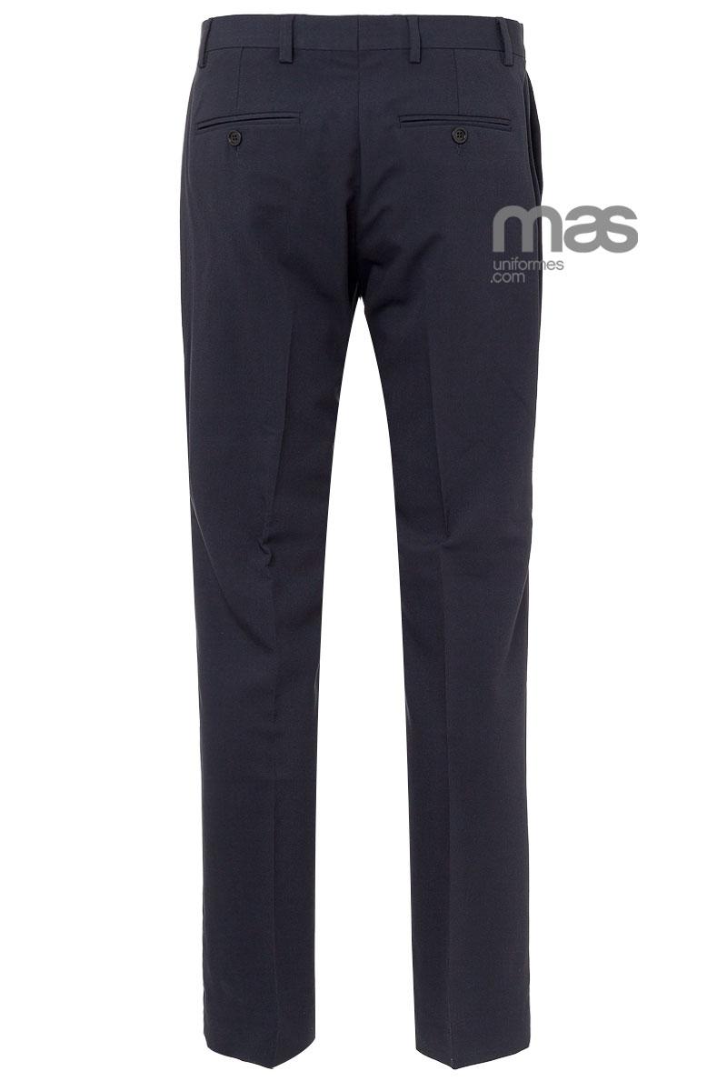 106baada3e Pantalón hombre de vestir Norvil sin pinzas ajustado
