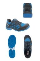 Zapato con puntera deportivo Argos azul con cordones
