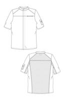 sketch jaqueta de cuina salerno