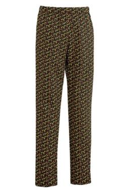 El pantalón de algodón poliéster estampado modelo Paprika tiene goma ajustable y cordón en toda la cintura para mayor comodidad