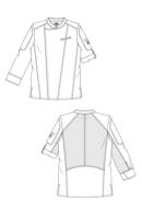 dibuix disseny jaqueta de chef biker fx
