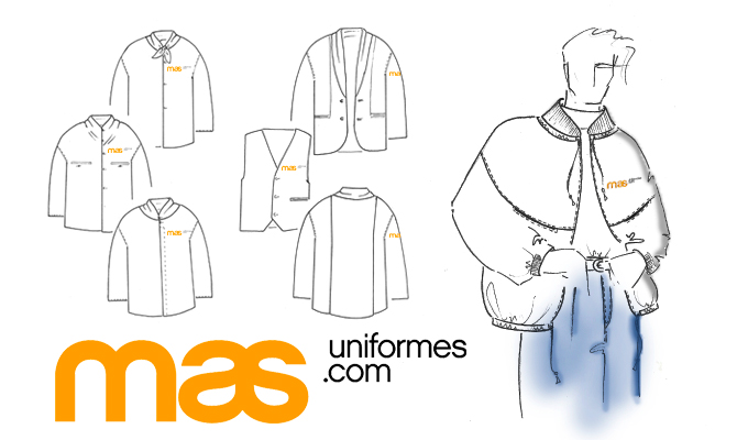 uniformes corporativos en mas uniformes